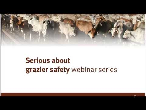 Serious about grazier safety webinar: Step 6 - 5 easy steps to maintain and improve worker health