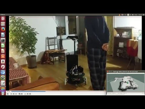 My first autonomous robot with ROS INDIGO - Robots