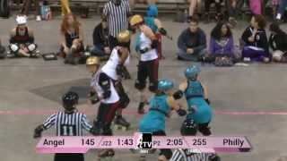 Philly Roller Girls v Angel City Derby Girls: 2013 WFTDA D1 Playoffs in Richmond