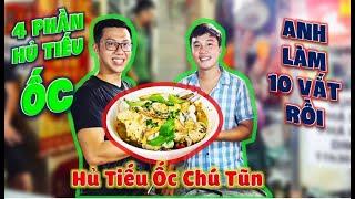 Anh Chủ HỦ TIẾU ỐC Chợ Campuchia Gài Kèo Funny Hùng 10 Vắt Hủ Tiếu Ốc Đầy Ắp Tô Và Cái Kết.