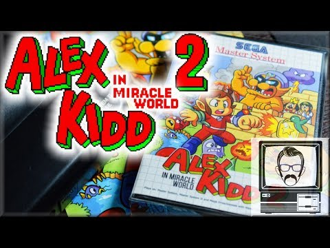 Alex Kidd in Miracle World 2! A sequel 30 years later | Nostalgia Nerd