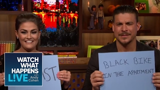 Jax Taylor And Brittany Cartwright Play The NearlyweDD Game - WWHL