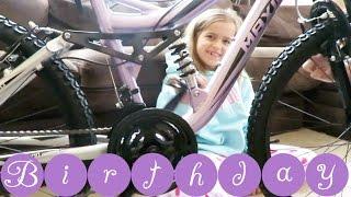 Sophia's Big 9 Year Old Birthday Bicycle!