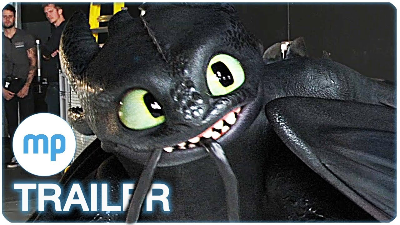 Drachenzähmen Leicht Gemacht 3 Kit Harington Casting Clip Trailer