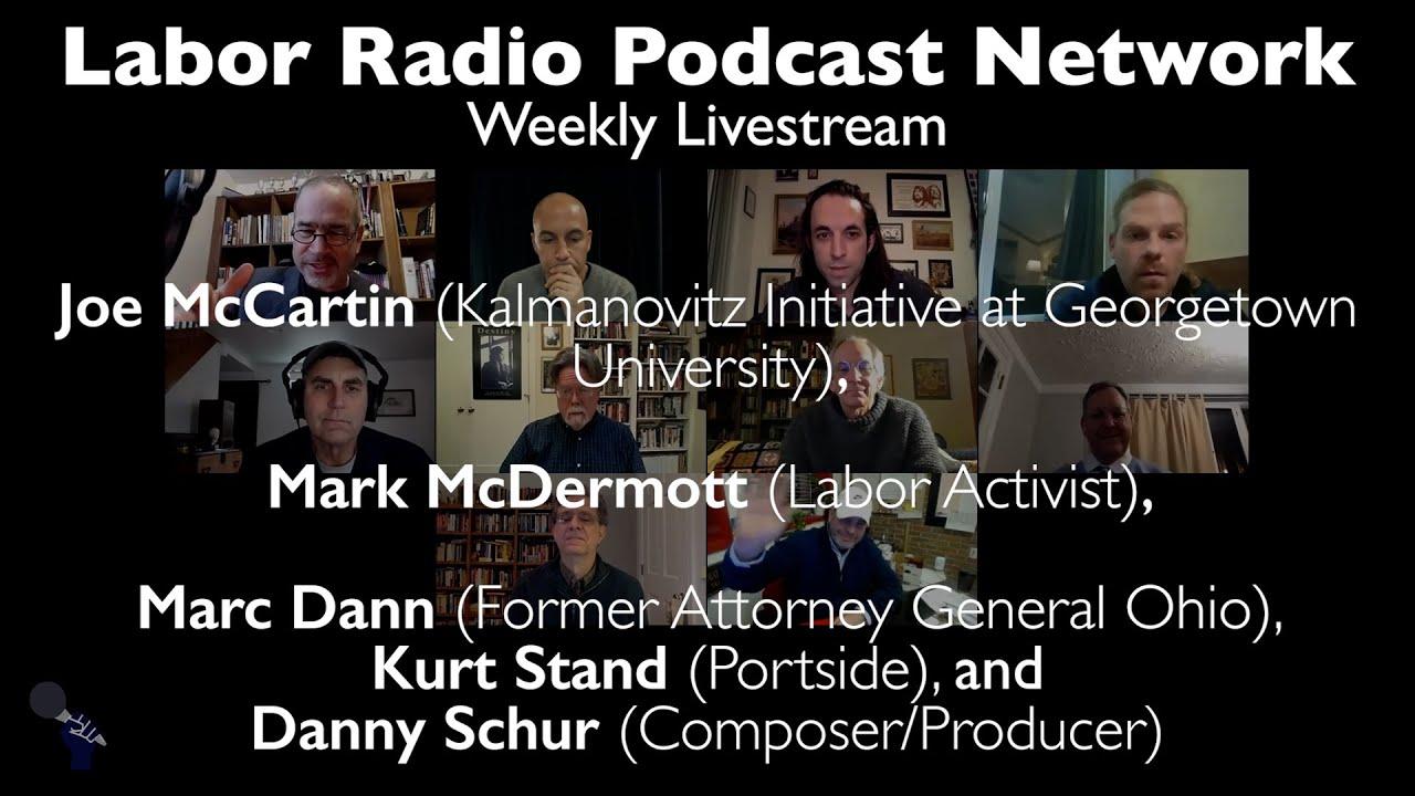 LRPN Live - Joe McCartin, Mark McDermott, Marc Dann, Kurt Stand, Danny Schur