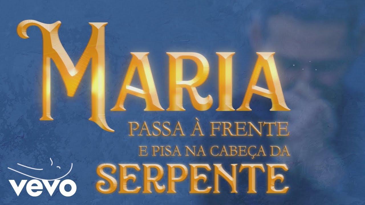 Padre Marcelo Rossi Maria Passa à Frente Lyric Video Ft Gusttavo Lima Youtube