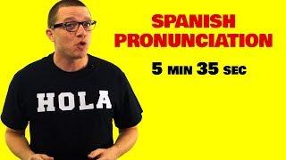 Download lagu Spanish Pronunciation Guide MP3