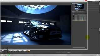 Speed Art Cinema 4D Vray Mitsubishi Evolution x black