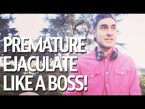 How To Cure Premature Ejaculation. Premature Ejaculate Like A Boss! from YouTube · Duration:  4 minutes 52 seconds