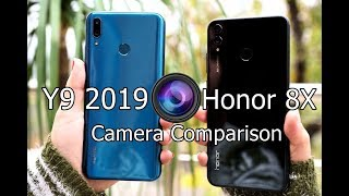 Huawei Y9 2019 vs Honor 8X Camera Comparison