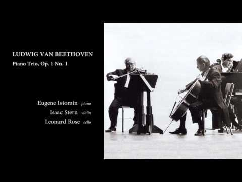 Beethoven Piano Trio, Op. 1 No. 1 (Istomin-Stern-Rose)