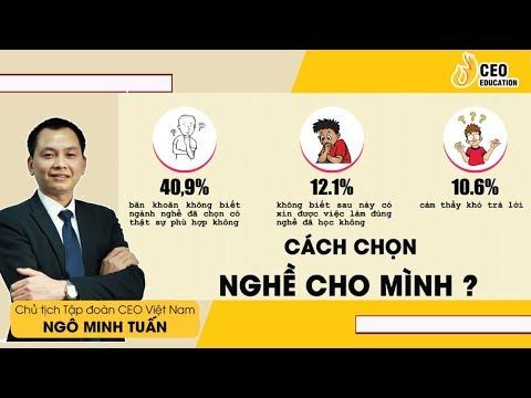 Tư Vấn Cách Chọn Được Công Việc Hợp Bản Thân – Ngô Minh Tuấn   Học Viện CEO Việt Nam