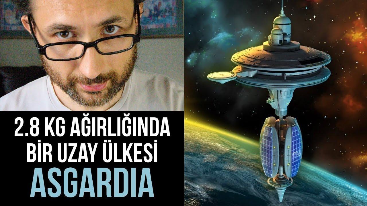 Asgardia: 2.8 kg ağırlığında bir uzay ülkesi. Şimdilik!
