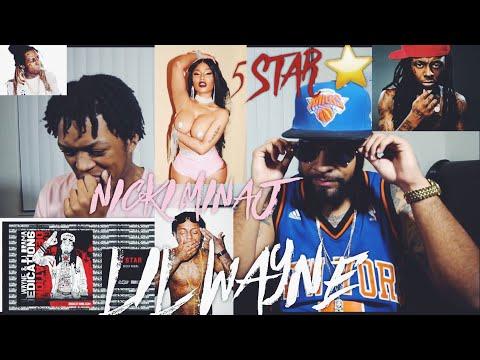 Lil Wayne - 5 Star feat. Nicki Minaj (Official Audio) | Dedication 6 |FVO REACTION