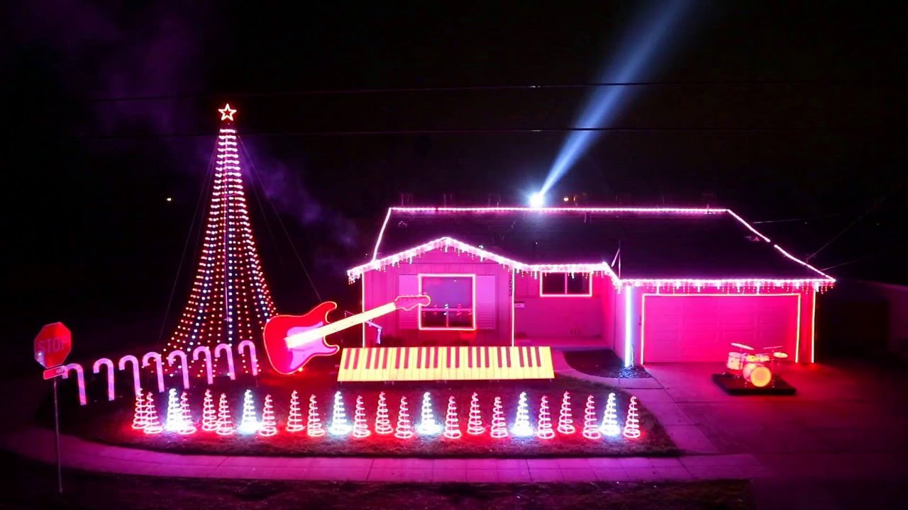 Awesome outdoor christmas light decoration room ideas youtube aloadofball Images