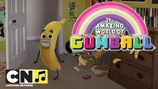 O Incrível Mundo de Gumball | Banana Joe Vlog | Cartoon Network thumbnail