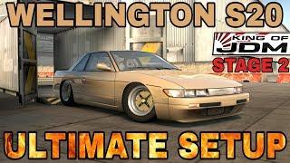 [OLD] Wellington S20 Ultimate Setup + King Of JDM Stage 2 (Nissan Silvia S13) CarX Drift Racing