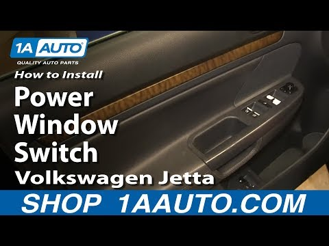 How to Replace Master Power Window Switch 05-10 Volkswagen Jetta
