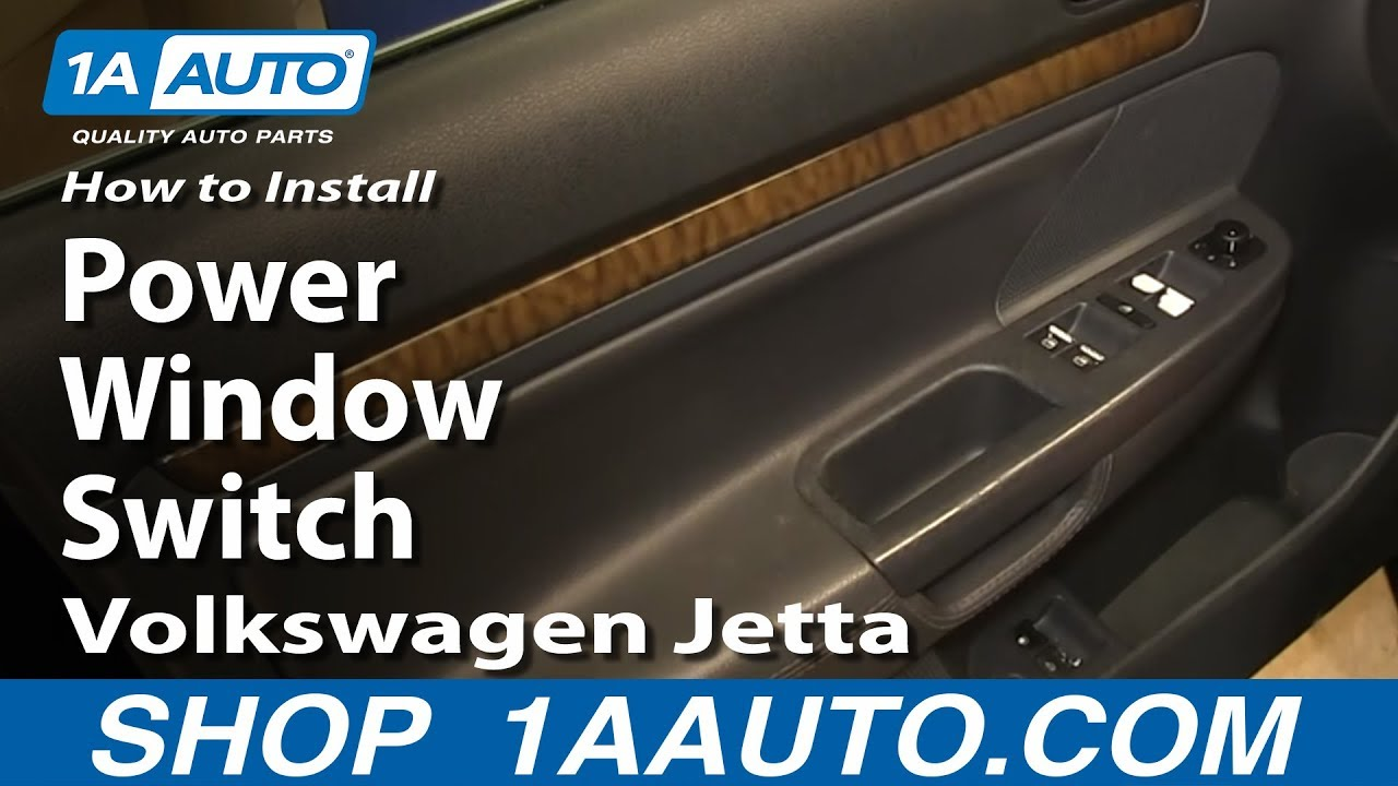 How To Replace Master Window Switch 05 10 Volkswagen Jetta