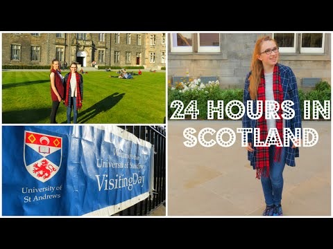 24 Hours in Scotland ♡ Exploring the University of St. Andrew's