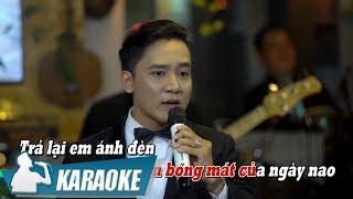 [KARAOKE] Trả Lại Em - Thanh Vũ