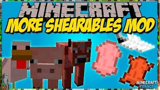[Mod] More Shearables 1.8.9 MINECRAFT FR