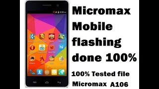 How To Flash Micromax Phone