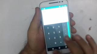 Moto G4 Plus Paralisando e touch não funciona  Resolvido em menos de 3 minutos