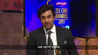 Download lagu RIP : Rishi Kapoor   Emotional Speech By Ranbir Kapoor   Zee Cine Awards