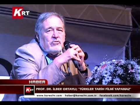 Prof  Dr  İlber Ortaylı; Türkler Tarih Filmi Yapamaz