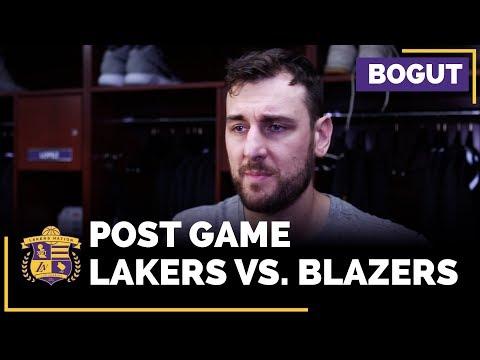 Andrew Bogut Talks Player Frustrations, Following Loss To Trail Blazers