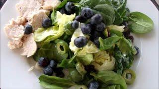 США Завтрак и Мой Любимый Зеленый Салат Можно есть МНОГО