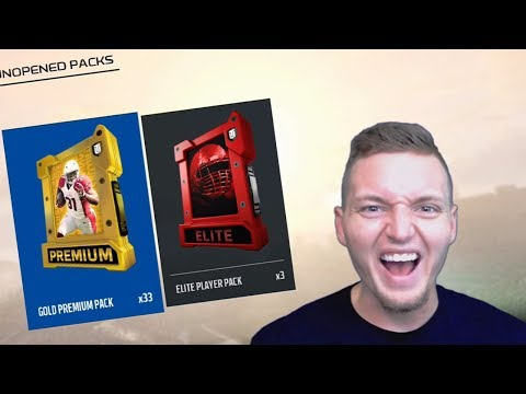 MADDEN 18 ULTIMATE TEAM PACK OPENING LIVE STREAM!