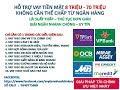 so sánh lãi suất vay tiền trả góp giữa các ngân hàng MB Bank, TP Bank, OCB, FE Credit, VP Bank