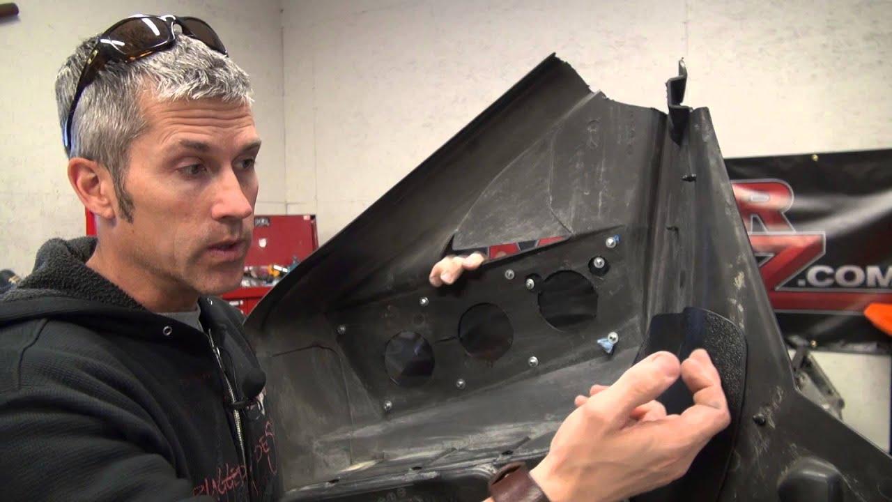 Slp High Flow Intake Kit Install On A Ski Doo Rev First