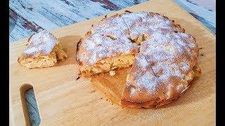 Классический рецепт Шарлотка с Яблоками  | Самый вкусный Яблочный Пирог из 3х ингредиентов