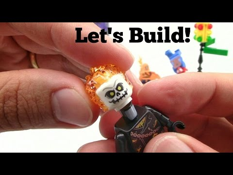 LEGO Spider-Man: Ghost Rider Team-up 76058 Let