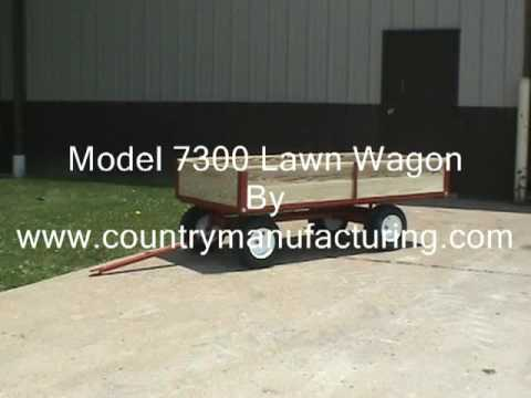 model7300 lawn and garden wagon by Country Manufacturing