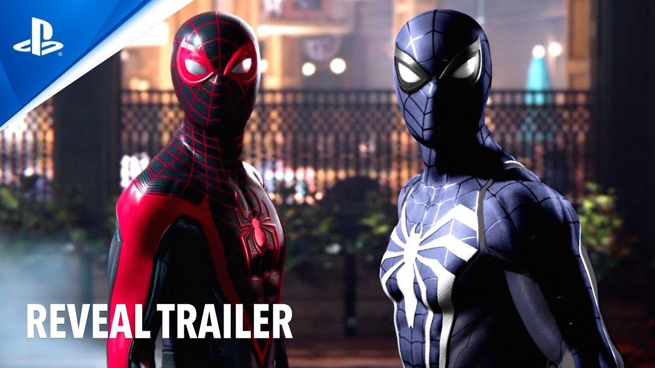 Marvel's Spider-Man 2 (PS5) BLACK SUIT   Reveal Trailer