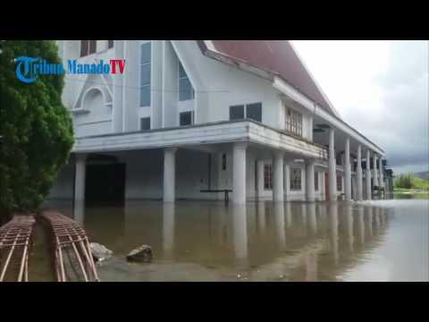 Danau Tondano Meluap, Sejumlah Bangunan Tergenang Air