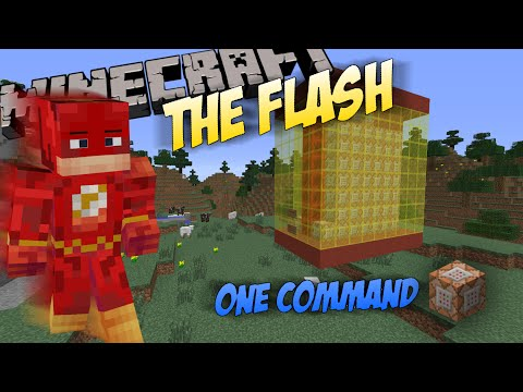 The Flash in One Command (Minecraft 1.8)