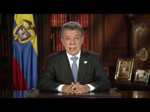 Alocución del Presidente Juan Manuel Santos sobre blindaje jurídico de la paz