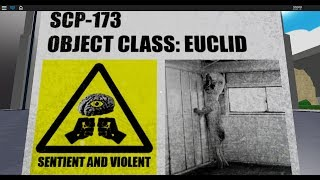 ROBLOX| Just SCP-173| BnD (Build and Destroy)