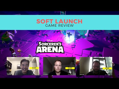 Disney Sorcerers Arena Mobile Game By Glu Mobile | Soft Launch Review