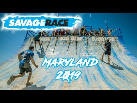 Savage Race 2019 (All Obstacles) - Maryland