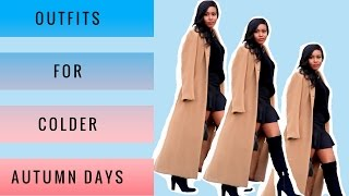 5 Outfits for Colder Autumn Days | Msnerdychica