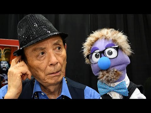 That Time Actor James Hong Slapped Around a Puppet at Stan Lee's LA Comic Con
