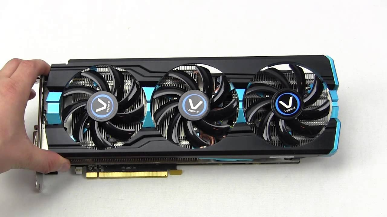 Sapphire R9 280x Vapor X Tri X Oc Video Card Unboxing Overview Youtube