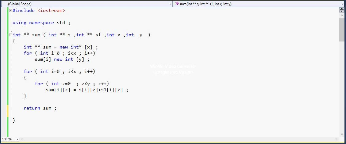 how to pass arrays to and from functions