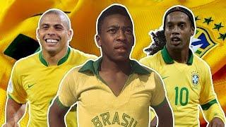 Greatest Brazil XI | Pele, Ronaldo, Ronaldinho!